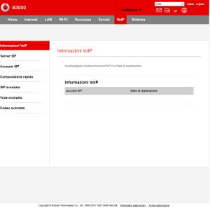 VOIP Vodafone B3000